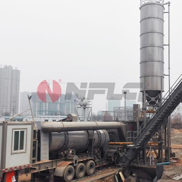 Mobile-Continuous-Asphalt-Mixing-Equipment