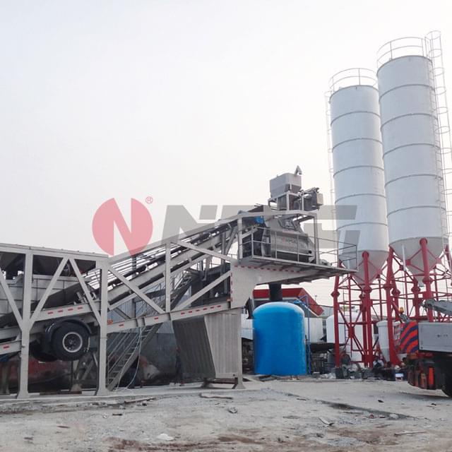 Integral Mobile Concrete Mixing