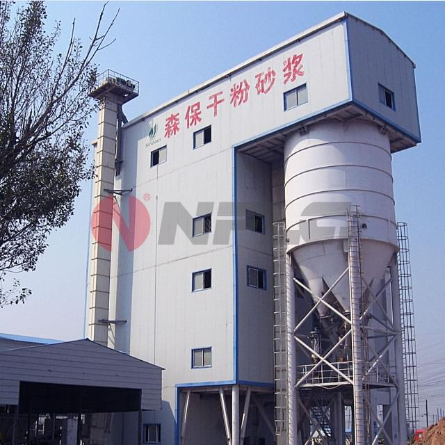 Dry-Mix-Mortar-Mixing-Equipment
