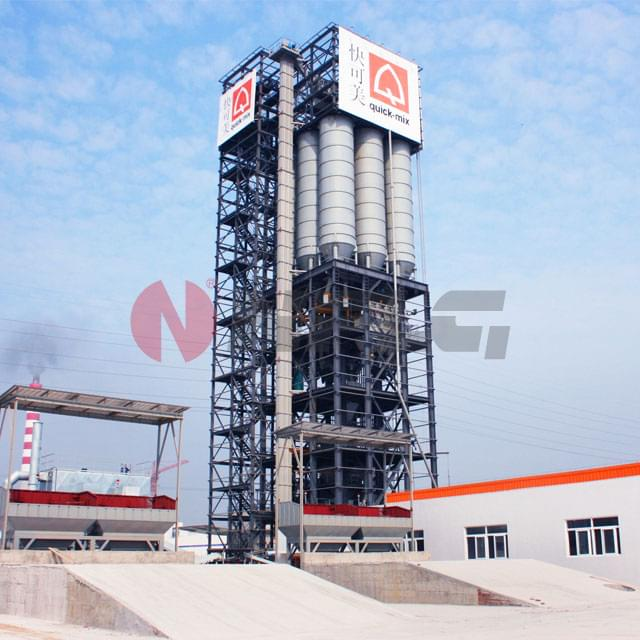 Tower-Dry-Mix-Mortar-Mixing-Equipment
