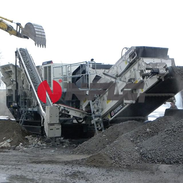 Tracked Mobile Impact Crushing Station