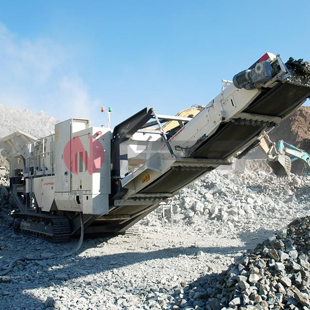 Tracked Mobile Jaw Crushing Station
